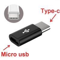 Mini Micro cavo USB 2.0 a USB 3.1 Tipo C Tipo di cavo-C 3.0 adattatore veloce convertitore USB Charger-C di sincronizzazione di dati per il telefono Andorid