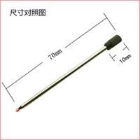 70MM طويلة قلم حبر جاف نقطة عبوات معدنية صغيرة عبوة 2000 جهاز كمبيوتر شخصى / لوط