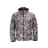 Armee Camouflage Coat Military Jacke Wasserdichte Windjacke Regenmantel Jagd Kleidung Armee TAD Männer Oberbekleidung Jacken Und Mäntel