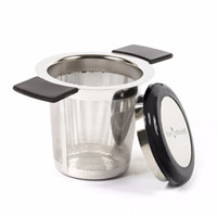 Premium Tea Infuser Brew- In- Mug Stainless Steel with Long Ha...
