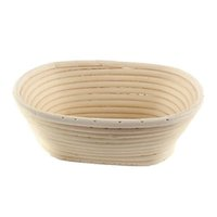 실용 빵 발효 바구니 다기능 과일 바구니 직사각형 모양 등나무 바구니 주방 굽기 도구 간편한 운반 31xh5 cc