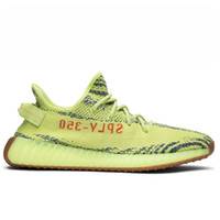 2018 Update Semi Frozen Yellow 350 V2 Shoes Gray Orange Blac...