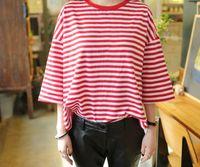 2018 여성 패션 스트라이프 중형 송아지 티셔츠 하라주쿠 커플 양복 티 프린트 원더 코튼 반소매 해리 포터 T 셔츠