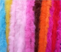 2m / pc Abbigliamento Accessori Turchia Fluff Multi Color Strip Boa Fluffy Happy Birthday PaFluffy Boa Birthday Party Decorazioni di nozze Forniture