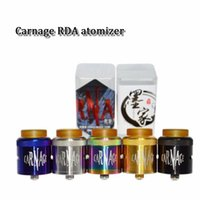 Carnage RDA diy bottom dripping 316ss rebuildable rba e cigs...
