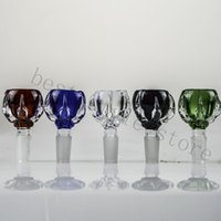 Glass 14mm 18mm Dragon Bowl Claw Colored Bowls Multicolor Th...