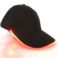 Unisex New Fashion Glow in Dark Reading Pesca Light Up LED Gorra deportiva Gorras de béisbol Luminous Holiday Hat