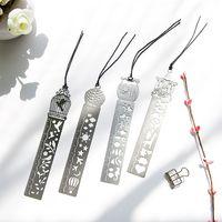 4 Styles Classical Metal Sorar Signet Signet Creative Student Cadeaux Antique Cadeaux Rétro Papeterie Règle en acier Free DHL