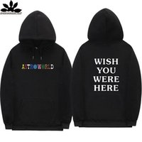 Travis Scott Astroworld Pullover Mode Brief DruckHoodie Street Mann und Frau Sweater