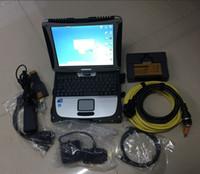 Carmotorcycle for BMW أداة تشخيصية الماسح الضوئي ICOM A2 B C D مع CF19 Laptop CF 19 Toughbook HDD 500GB خبير الخبير 64bit