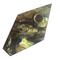 DingSheng Labradorite Smoking Pipe Natural Large Crystal Qua...