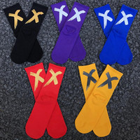 Mens Socks Over Ankle Fashion Cross Print High Street Socks ...