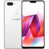 "Original OPPO R15 4G LTE Celular 4GB RAM 128GB ROM Helio P60 Octa Core Android 6.28 ""OLED Tela cheia 20.0MP AI 3450mAh ID de impressão digital ID inteligente"