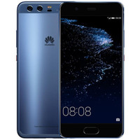 "Téléphone portable d'origine Huawei P10 4G LTE RAM 4 Go RAM 64 Go / 128 Go Kirin 960 Octa Core Android 7.0 5.1 ""2.5D Verre 20.0MP d'empreintes digitales NFC"