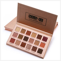 MAANGE 18 Colors Eyeshadow Palettte Peary- lustre Matte Earth...