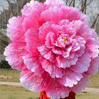الإبداعية الصينية اليدوية الفاوانيا الزهور الخيزران إطار مظلة الزخرفية مظلة هدية المرأة مظلة الزفاف الحلي wen5070