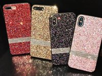 Cell Premium Case X Diamond Luxury Glitter Rhinestone 8 7Samsung For IPhone XR XS MAX Bling Phone Note 9 Nitoc