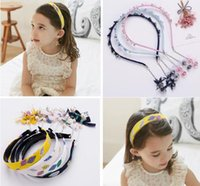 Korean Fashion Wholesale Childrens Hair Accessories pearl cr...