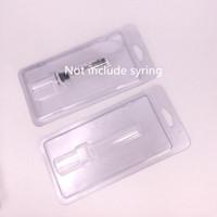 Plastik Clam Kabuk Kabarcık Paketi Luer Kilit Pyrex Şırınga Luer Başkanı Enjektör Kalın Co2 Yağı Bho Kartuş BUD Dokunmatik E Sigaralar