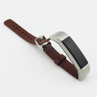 Cinturini di alta qualità cinturino nero cinturino in vera pelle cinturino in pelle per fitbit alta tracker cinturino da polso cinturino 2016
