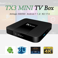 Hot TX3 Mini android tv box Amlogic S905W Steaming Media Pla...