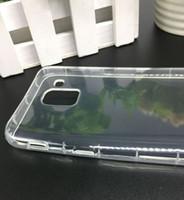 Para Samsung Galaxy A9 Star Lite S8 Lite J7 Duo J3 J8 2018 J400 J600 Phone Case tampa traseira Celular tampa transparente Choque Bolsa de protecção Proof