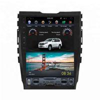 "Android 6.0 10,4 ""Tesla Vertical Bildschirm Car DVD-Radio GPS für FORD EDGE 2015-Navigation Multimedia-System WIFI A / C BT"