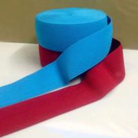 Bel Kemeri 73mm Genişlik için elastik Naylon Dokuma Askı DIY Dokuma Bant Mavi Kırmızı 39Yds./lot Karışık Renkler Giyim Aksesuarları UCUZ
