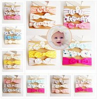 8 Style Baby girl Unicorn INS Headband hair accessories Knot...