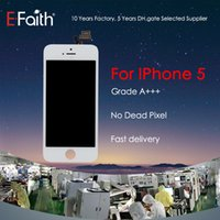 For Black iPhone 5 LCD Display &Touch Screen Digitizer Full ...