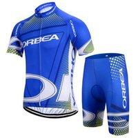 새로운 팀 오리아클링 저지 짧은 소매 도로 자전거 셔츠 반바지 세트 통기성 프로 사이클링 의류 MTB Maillot Ropa Ciclismo 41221