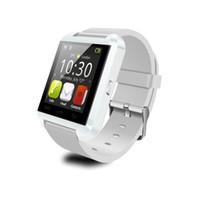 U8 Bluetooth сенсорный экран смарт-часы Наручные часы телефон с шагомер сна монитор для Android iOS смарт-телефон