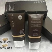 Dropshipping caliente vendiendo maquillaje Becca Foundation Ever Matte Shine Proof Foundation Arena y Shell BB Cream