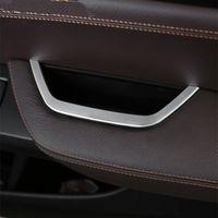Хромированная Главная приводная дверь подлокотник коробка для хранения рамка декоративная накладка для BMW X3 F25 X4 F26 автомобильные аксессуары блестки