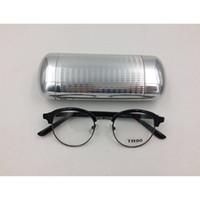 aca45679bad NEW Design Aluminum Magnesium Elegant Sunglasses Cases High Quality  Automatic Reading Glasses Box Spectacle Cases 10pcs Lot