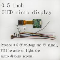 OLED 0.5inch 풀 컬러 웨어러블 기술 마이크로 디스플레이 스크린