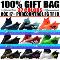 Laceless ACE 17 Purecontrol Messi Soccer Boots High Ankle AC...