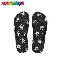 Fashion Mask skull Design Summer Slippers Woman Casual Women...