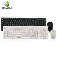Bosston Wireless Keyboard and Mouse Set 2. 4GHz Bluetooth Nan...
