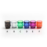 colorati in plastica 810 punte del gocciolamento per cig e RDA Drip Tip serbatoi Vape 810 atomizzatori filo boccaglio nuove invenzioni