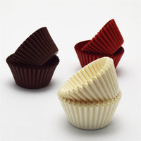 500 1000 Pcs Chocolate Paper Muffin Case Cupcake Liner Bakin...