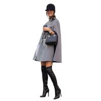 PADEGAO Mantel Style Fashion Windbreaker 2017 Herbst Winter Frauen Mantel Reich Linie