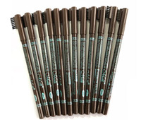48pcs lot Menow Waterproof Eyebrow Pencils with brush Double...