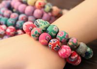Brins perles mode 12mm polymère polymère perles perles de perles de perles de perles d'argile