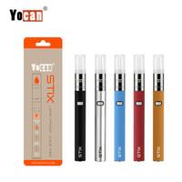 Origianl Yocan Stix Kit Mit 320 mAh Batterie Einstellbar Trockenen Kraut Wachs Stift Vape Pen E Zigarette Kits Starter Kit