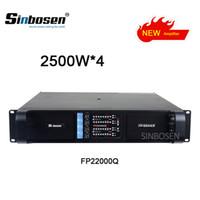 2018 nouvel amplificateur 2500W * professionnel amplificateur de puissance 4CH fp22000q pour haut-parleur de tableau de ligne 4650w à 4 ohms ampli basse