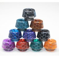 Newest Snake Skin 810 Bullet Resin Drip Tip for SMOK TFV8 TF...