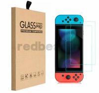 9H Ultra-Claro Tela de vidro temperado Protetor de tela Capa para Nintendo Switch Acessórios NS
