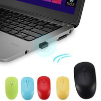 Portable 2. 4Ghz Wireless Mouse USB Solid Color Optical Gamer...