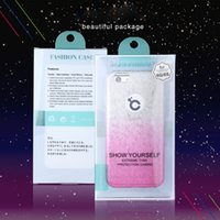 Retail Package 3 in 1 Bling Glitter TPU SPC Gradient Color C...